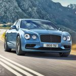 Bentley Flying Spur W12 S promoted with Bentley's Gigapixel image of Dubai