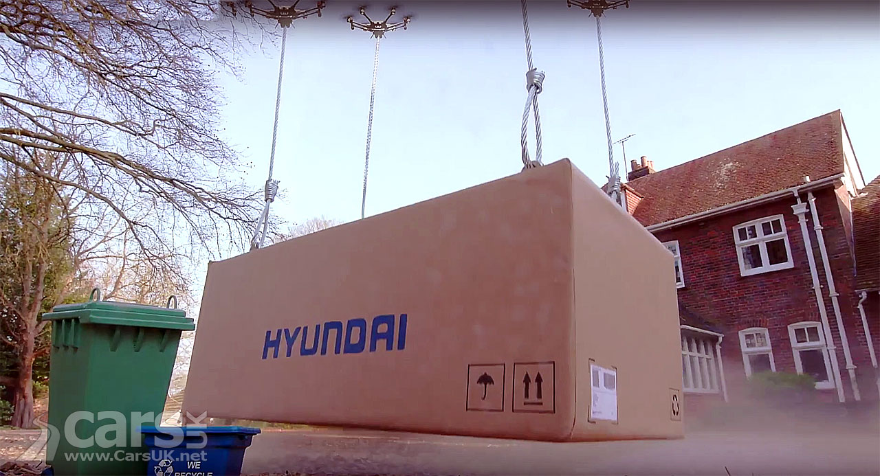 Photo Hyundai Click to Fly Drone Delivery