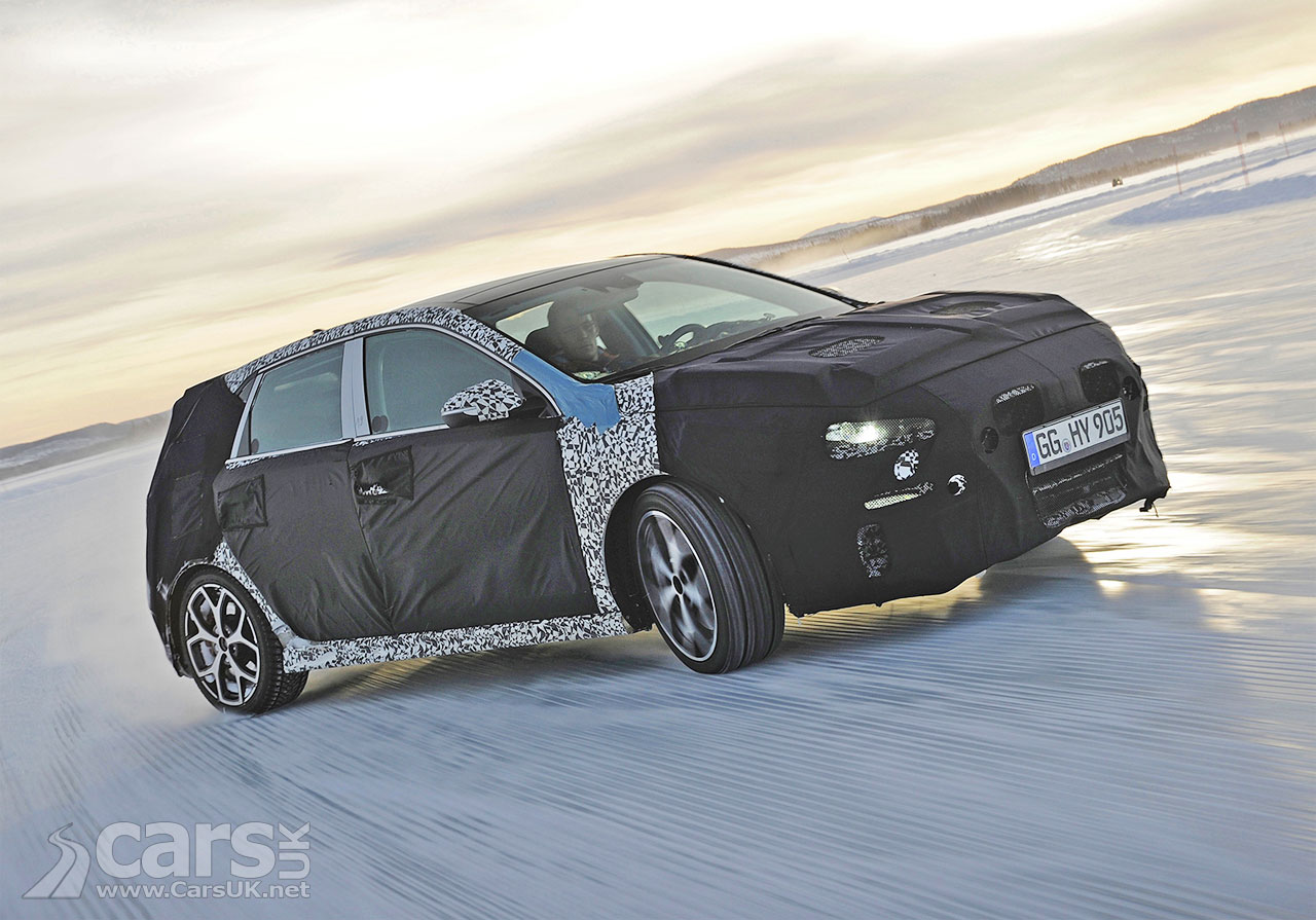 Photo Hyundai i30 N Winter Testing in Sweden