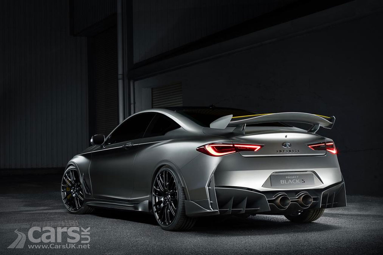 Infiniti Q60 Black S Could Deliver 500bhp With An F1 Kers
