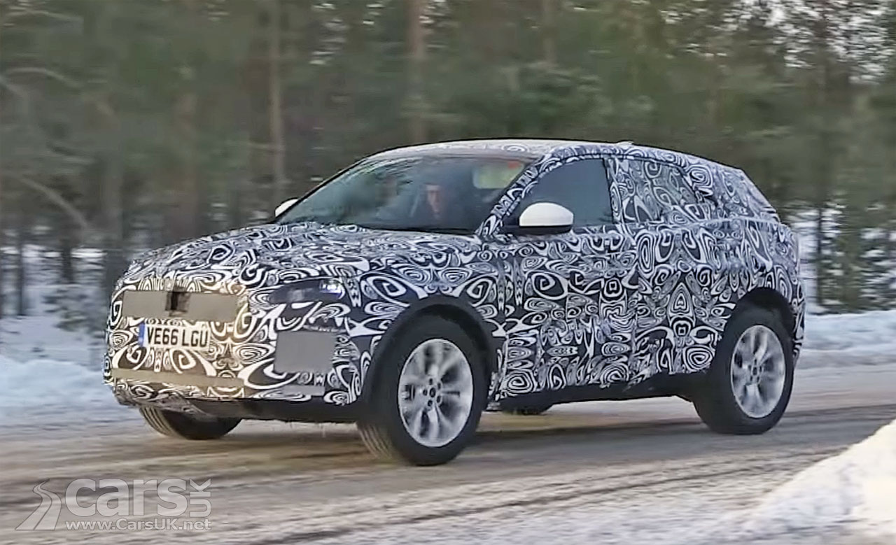 Photo Jaguar E-Pace SUV Spy