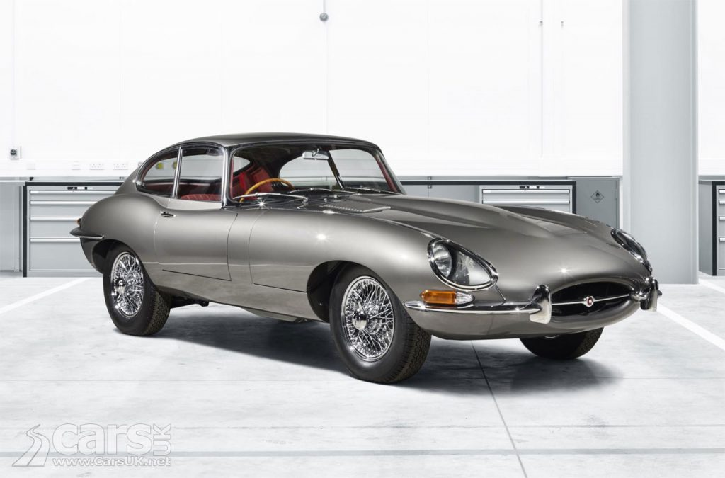Photo Jaguar E-Type Reborn from Jaguar Classic