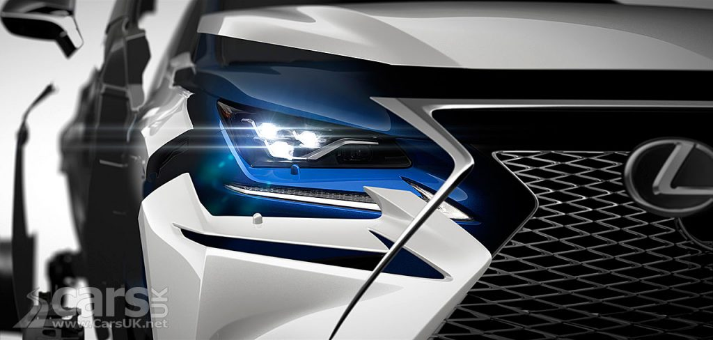 Photo Lexus NX SUV Facelift Tease