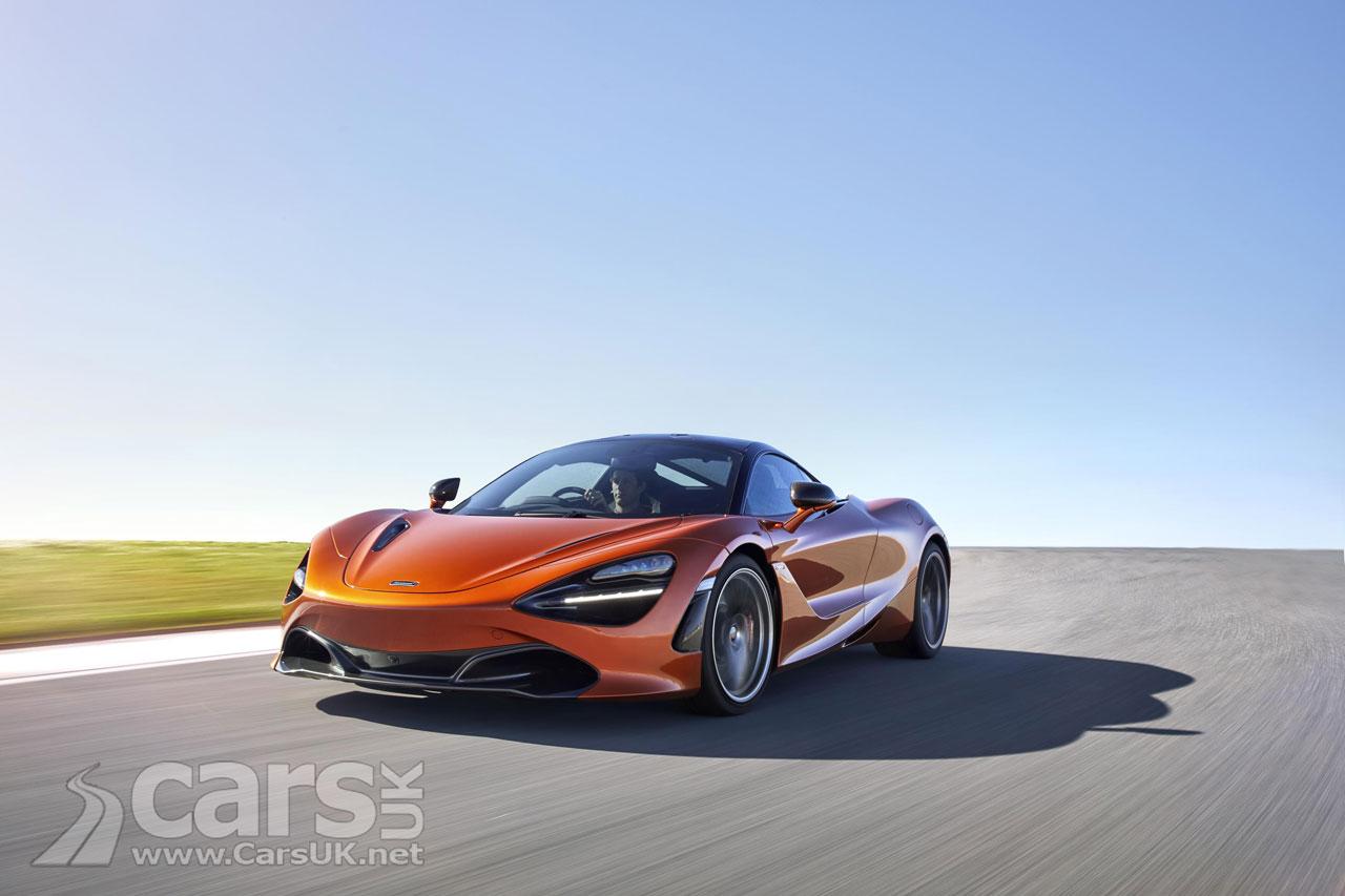 Photo McLaren 720S