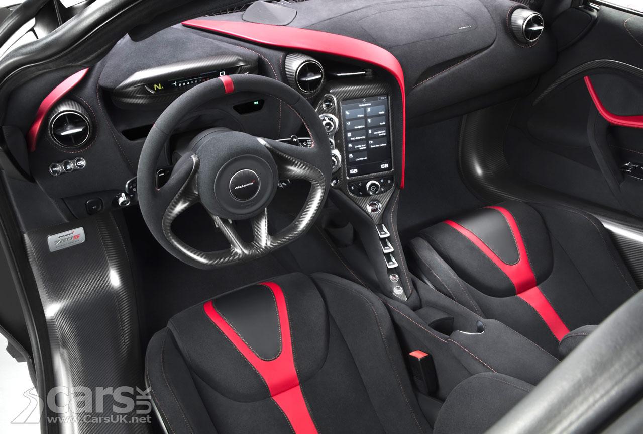 Photo McLaren 720S Velocity Interior