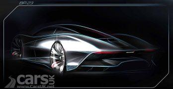 McLaren BP23 Hyper GT teased again as the new McLaren F1