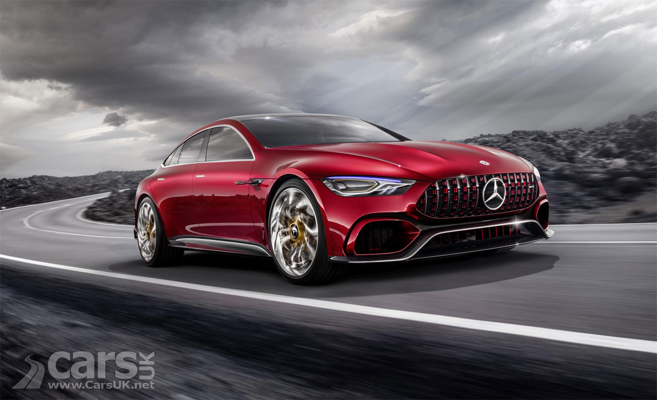 mercedes amg gt concept four door amg saloon hits 62mph in. Black Bedroom Furniture Sets. Home Design Ideas
