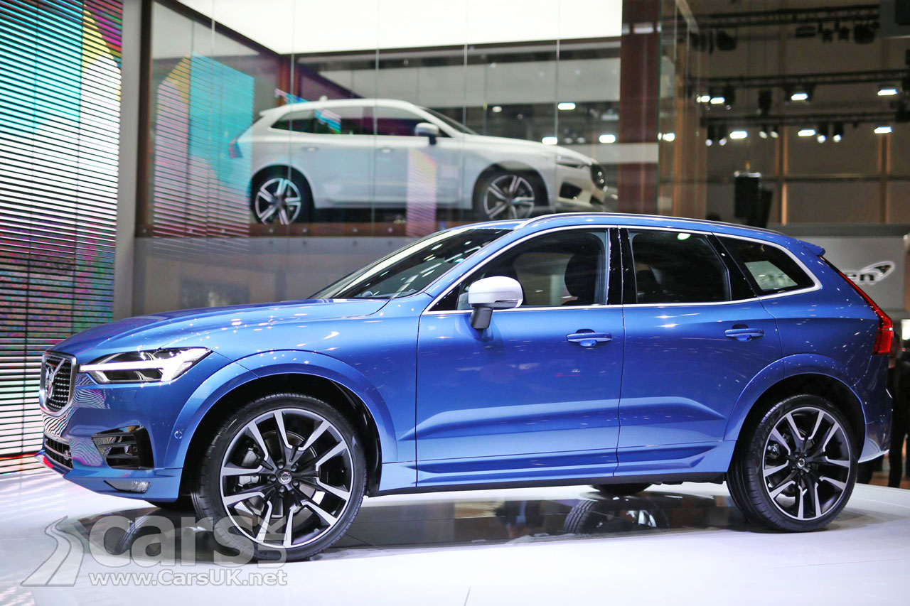 new volvo xc60 looks even more convincing on volvo 39 s stand in geneva cars uk. Black Bedroom Furniture Sets. Home Design Ideas