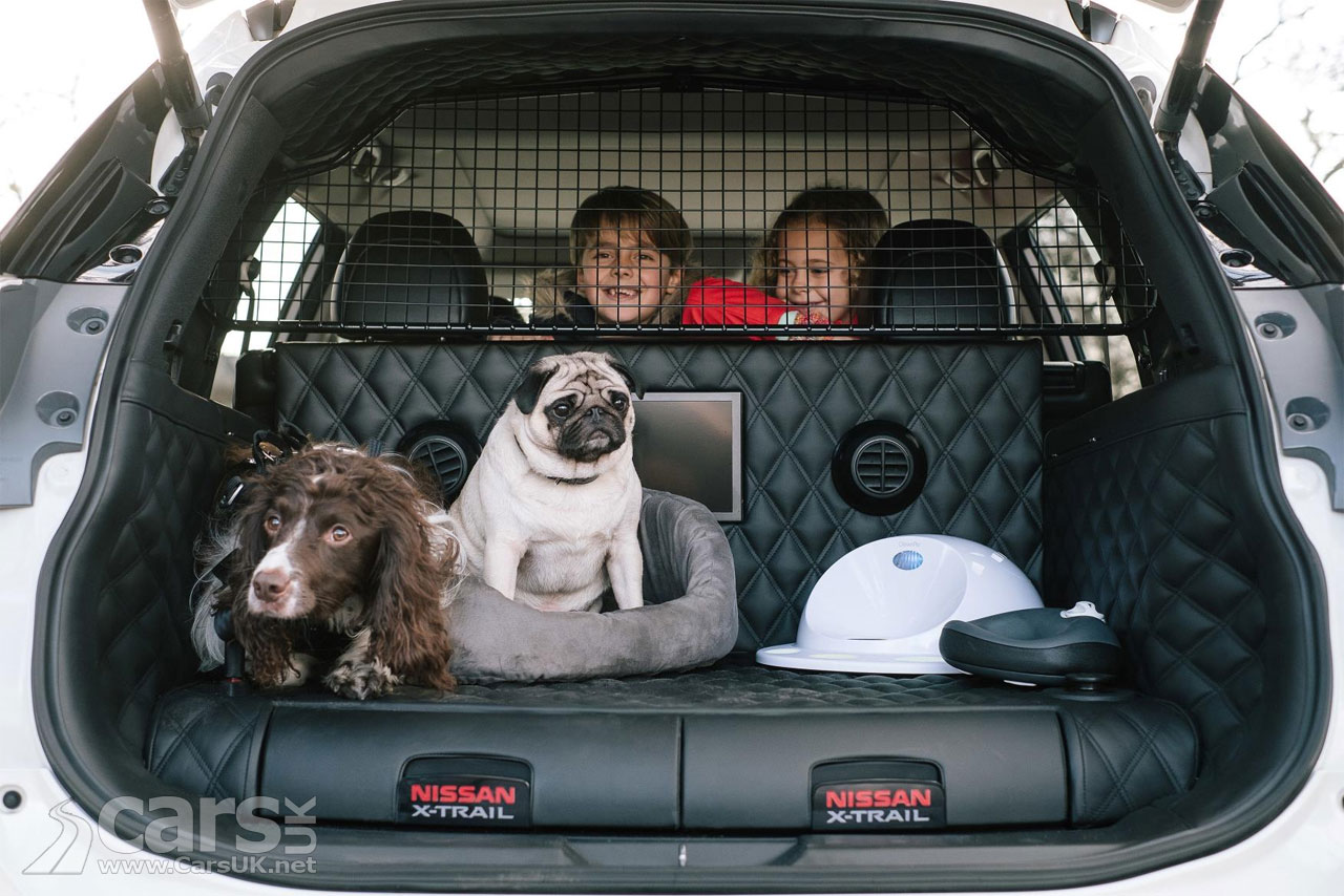 Photo Nissan X-Trail 4Dogs