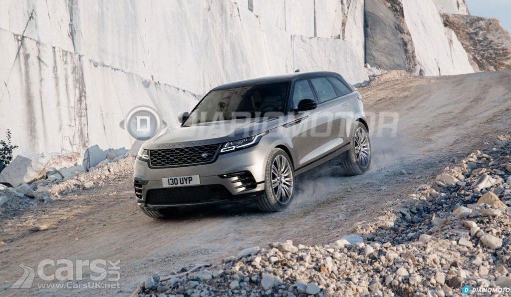 Photo New Range Rover Velar LEAK