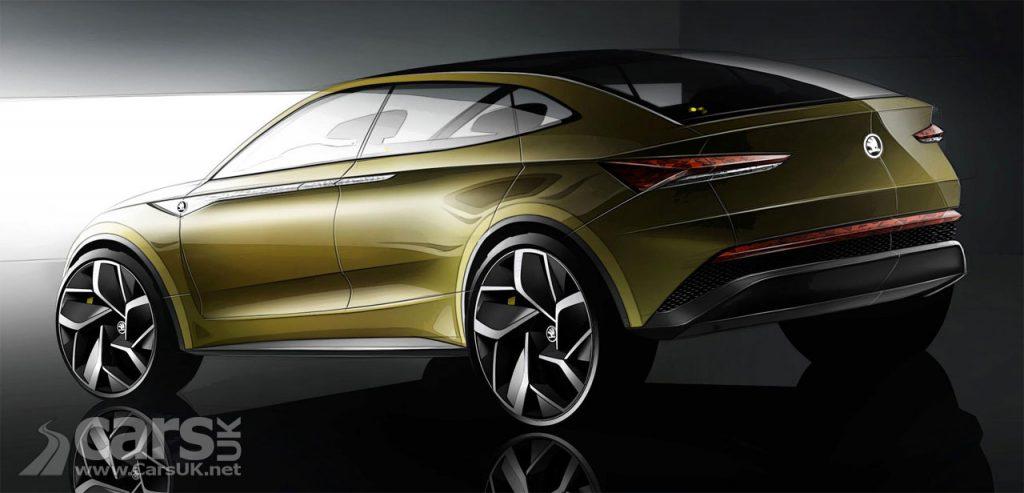 Photo Skoda Vision E Concept Rear