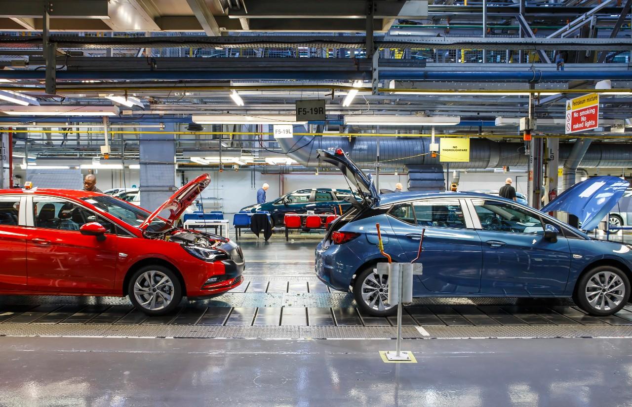 Photo Vauxhall Astra Production
