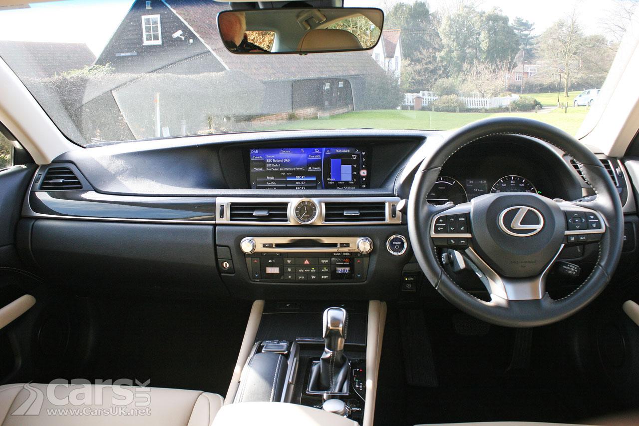 Photo 2017 Lexus GS 300h Executive Edition Review Interior
