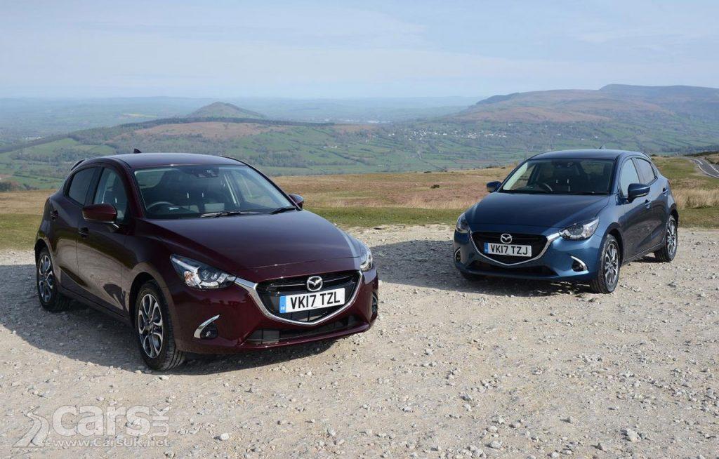 Photo 2017 Mazda 2 Facelift UK