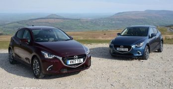 New Mazda 2 GT and GT Sport head updates to the Mazda 2 range in the UK – prices from £12,695