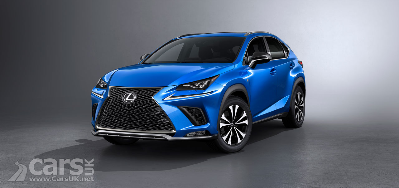 Photo 2018 Lexus NX SUV Facelift Exterior