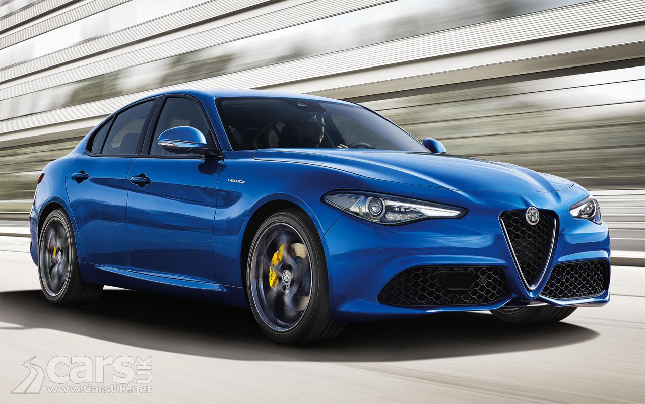alfa romeo giulia veloce in case you can 39 t run to a giulia quadrifoglio cars uk. Black Bedroom Furniture Sets. Home Design Ideas