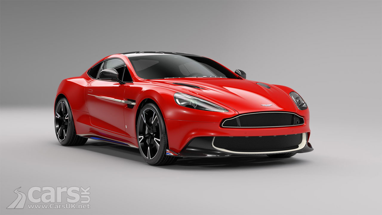 aston martin vanquish s red arrows by q is a cosmetically titivated red vanquish cars uk. Black Bedroom Furniture Sets. Home Design Ideas