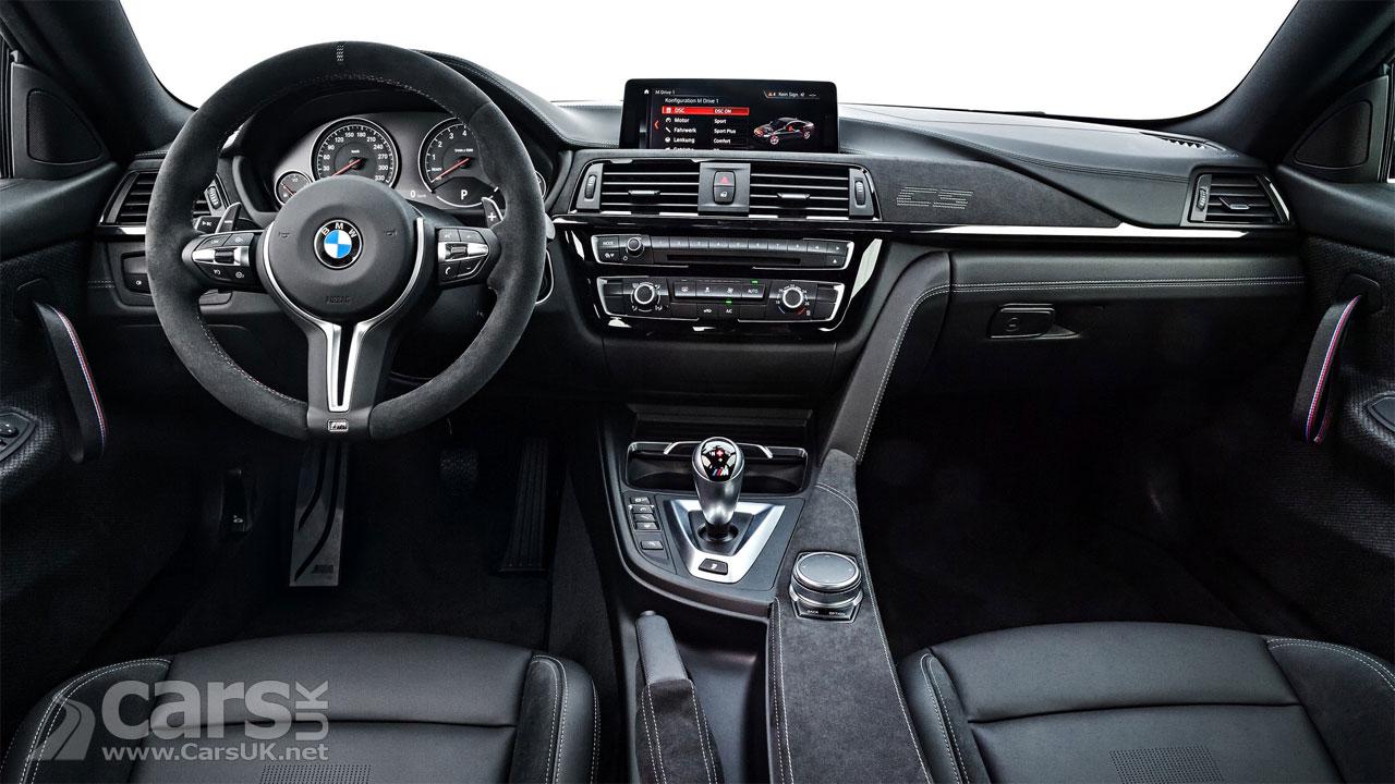 Photo BMW M4 CS Interior