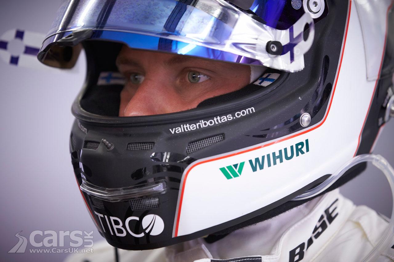 Bottas ends Hamilton run for first career pole