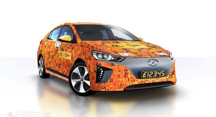 Photo Contactless Hyundai Ioniq