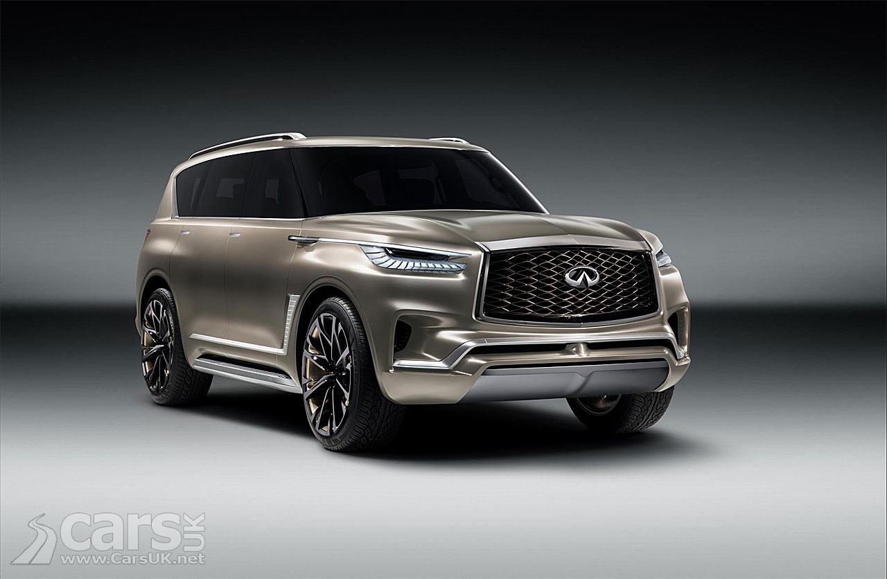 infiniti qx80 monograph heading for new york motor show debut cars uk. Black Bedroom Furniture Sets. Home Design Ideas
