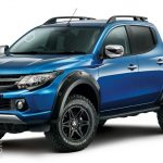 Mitsubishi L200 Barbarian SVP is the first offering from Mitsubishi's Special Vehicle Projects
