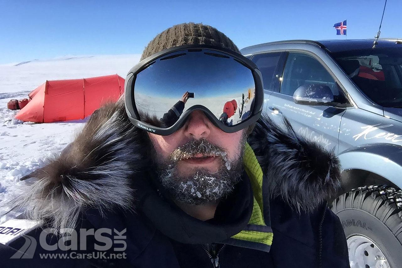 Patrick Bergel - Shackleton's Grandson - Antarctic Hyundai Santa Fe