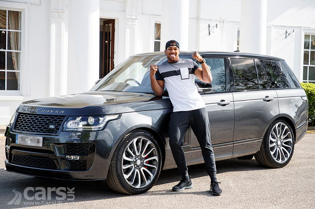 Photo Bespoke Range Rover SVAutobiography Dynamic for Anthony Joshua