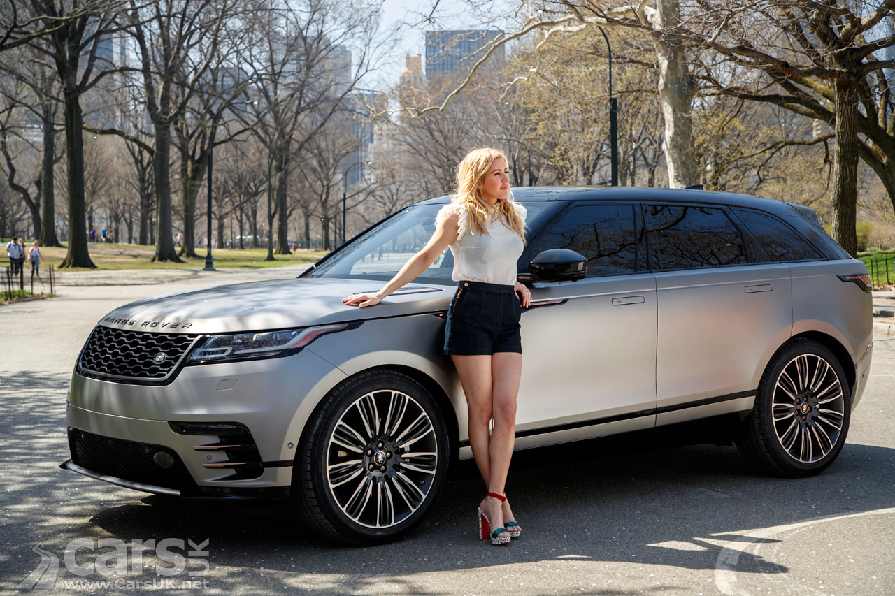 Range Rover Velar Debuts In New York As Land Rover Enlist