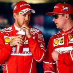 Ferrari's Sebastian Vettel and Kimmi Raikkonen own the front row at Russian Grand Prix