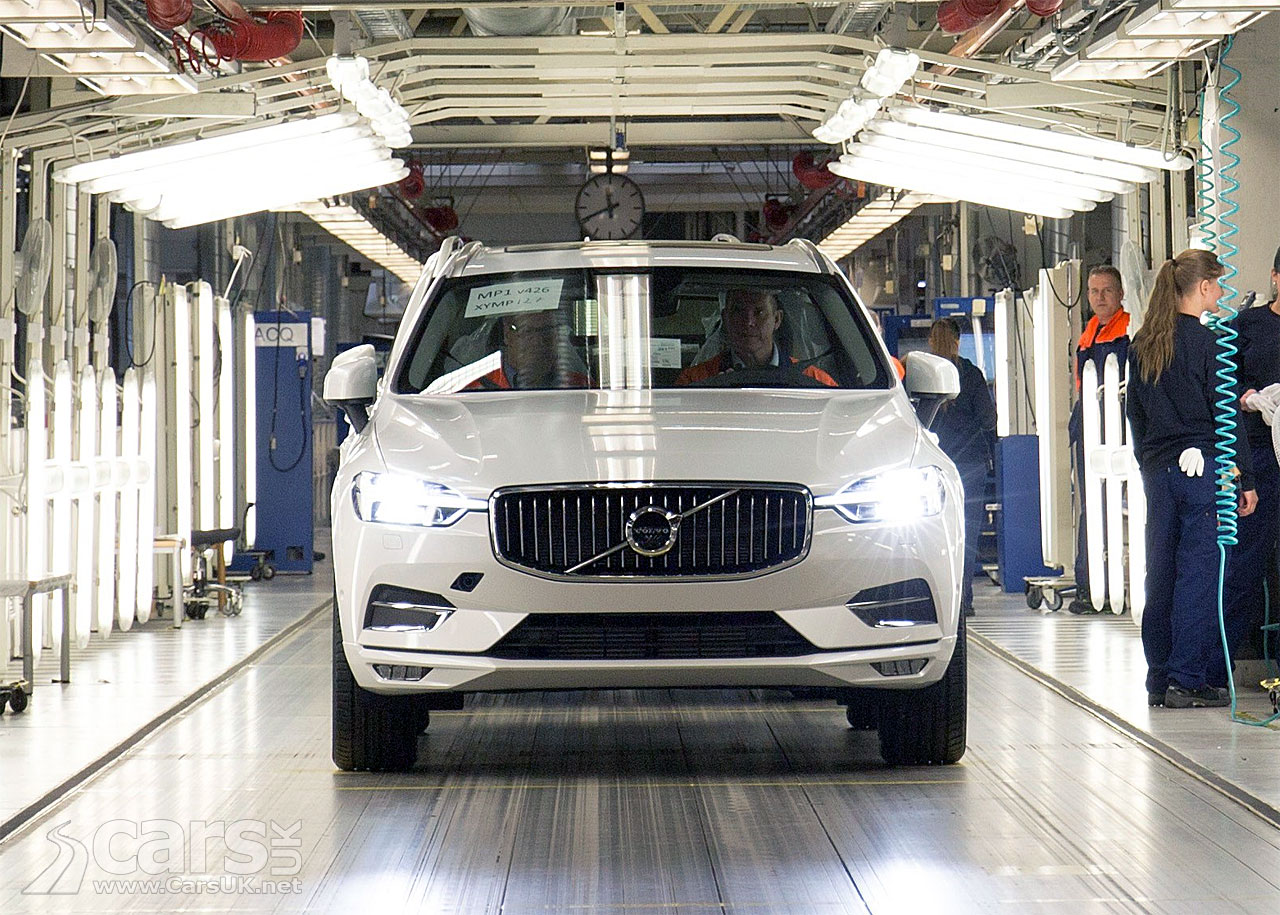 Volvo Starts Production Of The All-New XC60