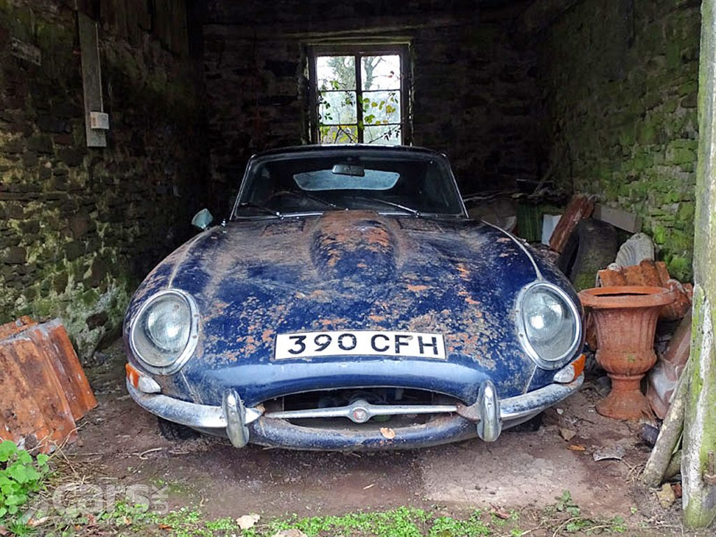 Photo 1962 Jaguar E-Type 3.8 Coupe Barn Find