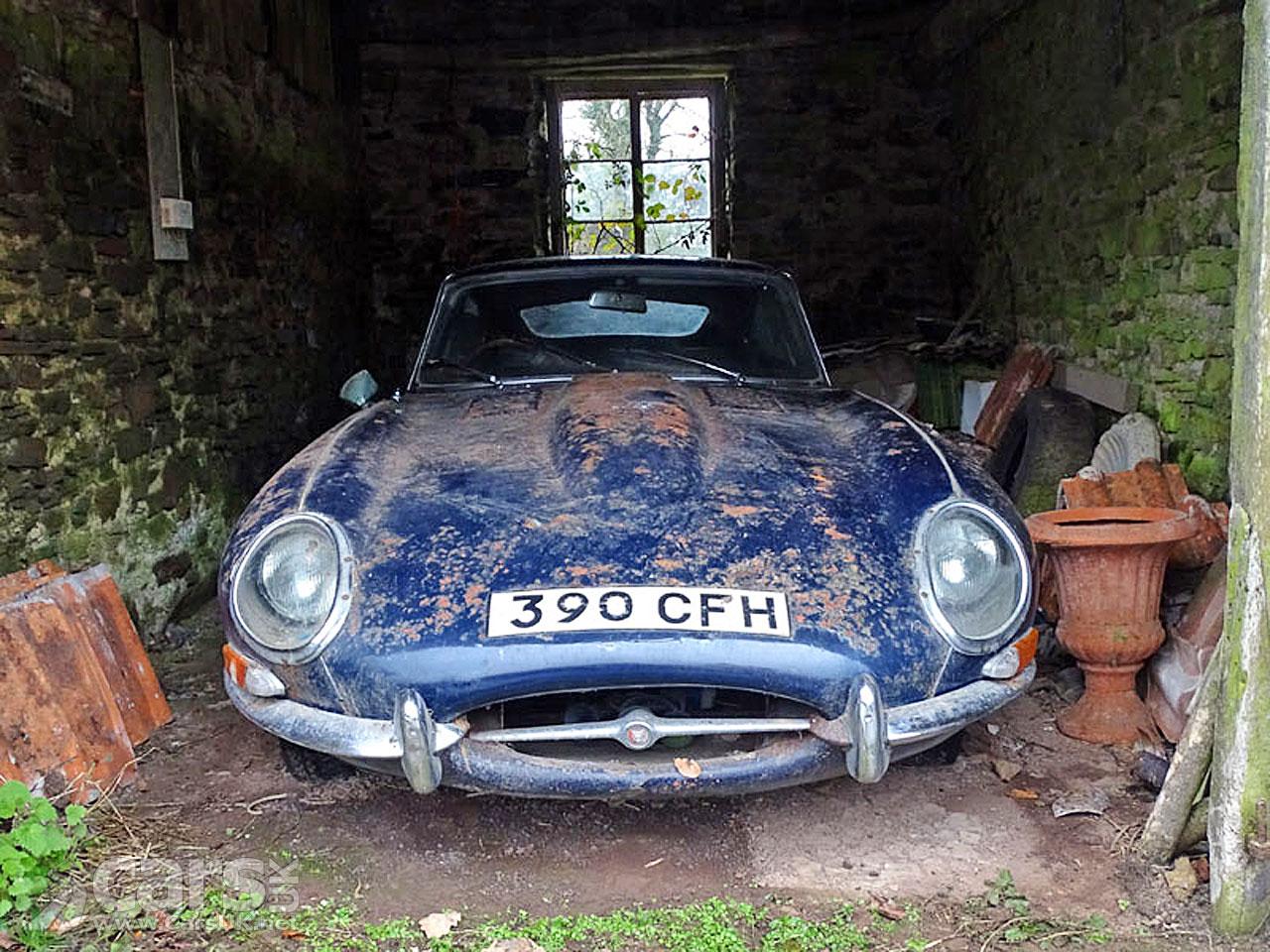 1962 Jaguar E Type 38 Coupe Barn Find