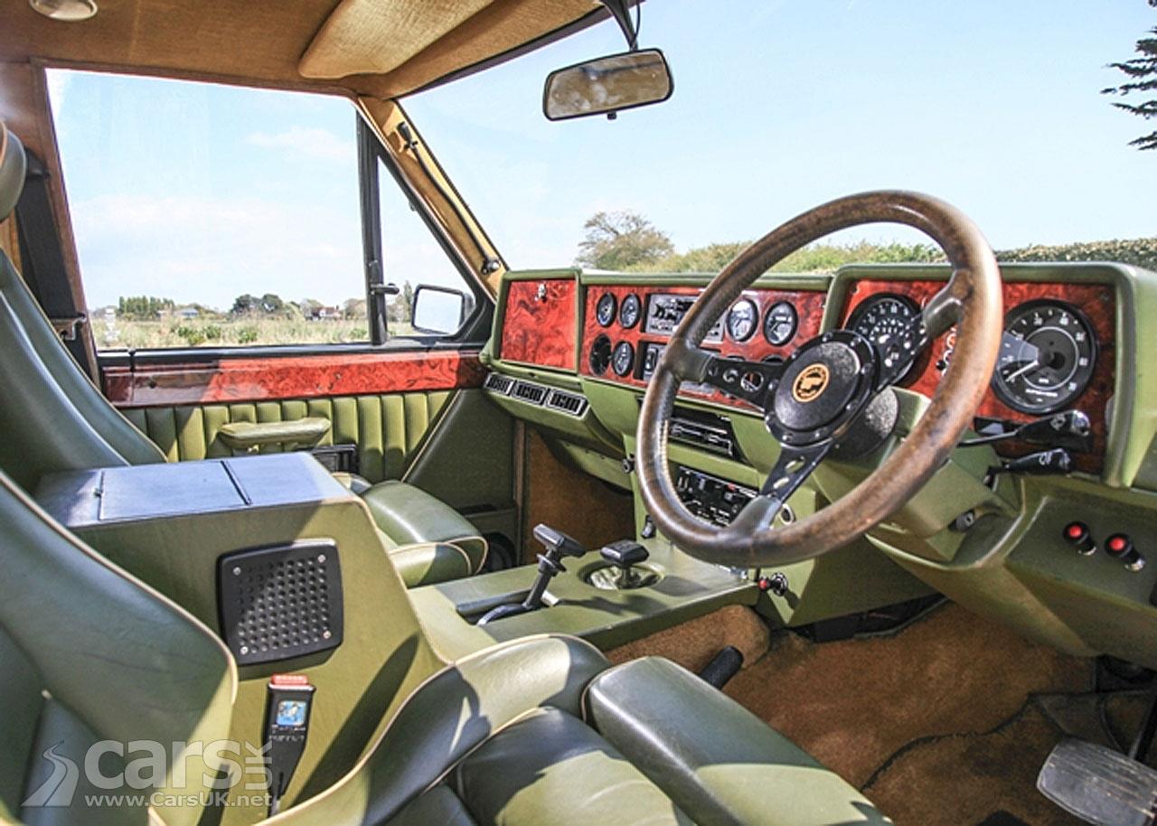 Photo 1983 Range Rover 'Harrods Edition', by Wood & Pickett Interior