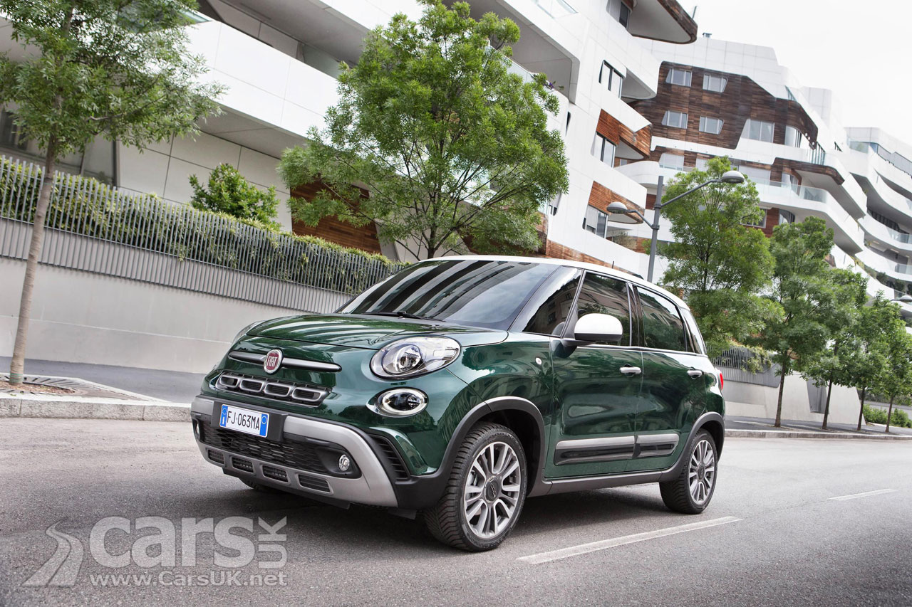 2017 fiat 500l gets a revamp and new names 500l cross lounge and wagon cars uk. Black Bedroom Furniture Sets. Home Design Ideas