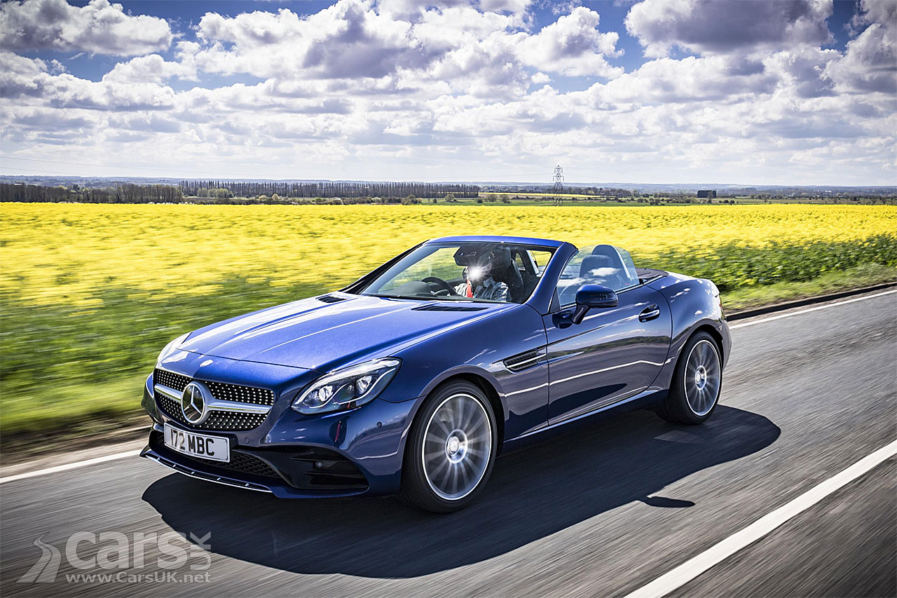 Mercedes launches new entry-level SLC 180 with 1.6 turbo petrol engine