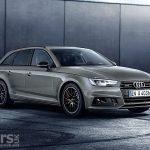 Audi A4 Avant Black Edition showcases Audi's 2018 updates for the A4