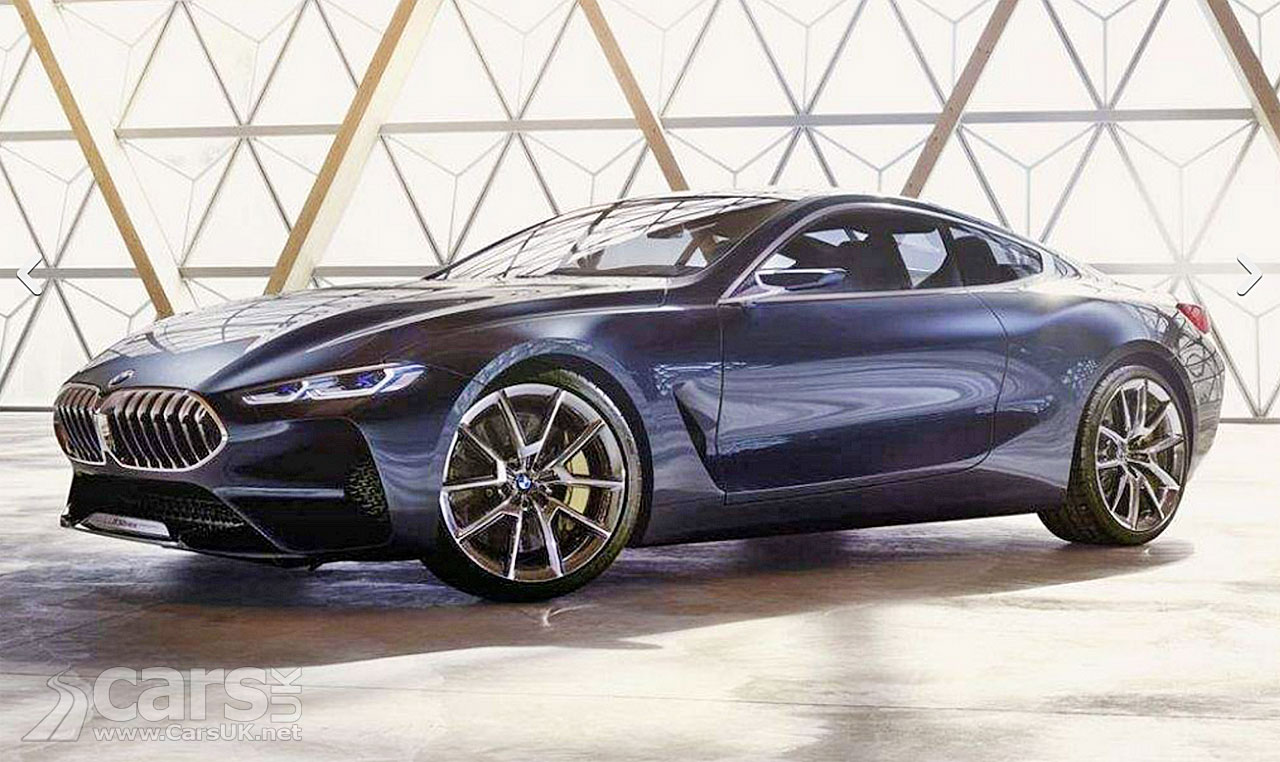 Photo BMW 8 Series Concept LEAKED