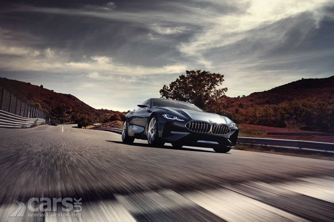Photo BMW Concept 8 Series OFFICIALLY revealed
