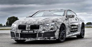 BMW M8 Prototype revealed as BMW build the M8 alongside the new 8 Series range