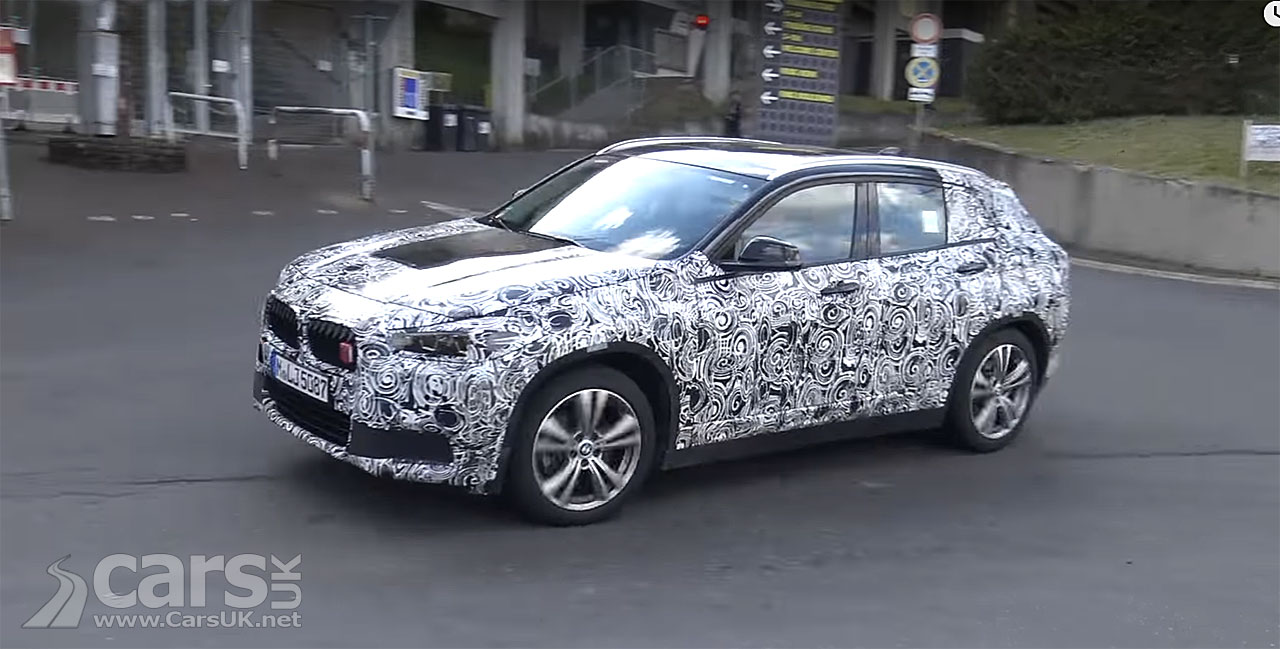 Photo New BMW X2 caught testing at the Nurburgring