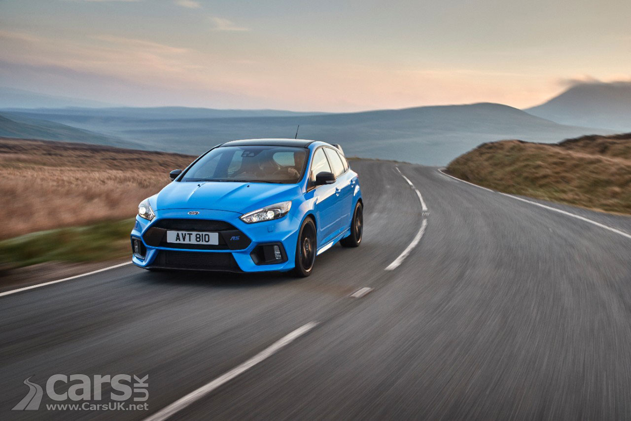 Ford Focus RS gains a limited-slip diff with new Option Pack