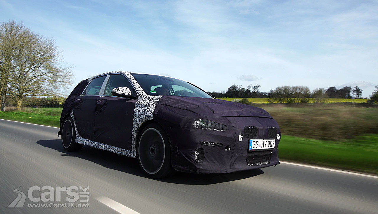 Hot Hyundai i30 N has been testing on United Kingdom roads