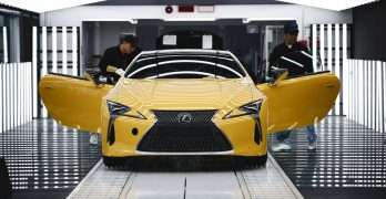 Lexus LC goes in to production for UK market – first LC Coupes in UK in August
