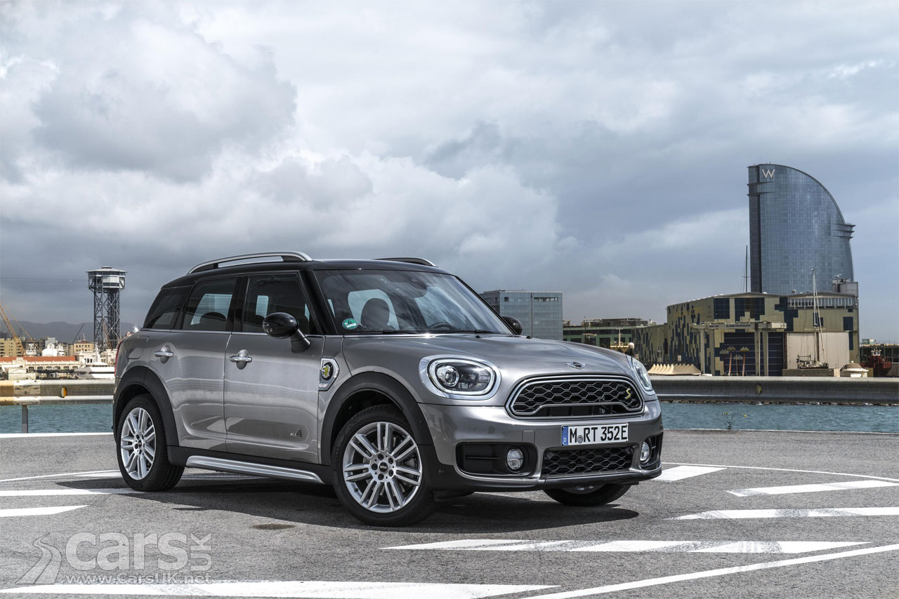 Mini Cooper S E Countryman All4 Plug In Hybrid Uk Debut At Goodwood