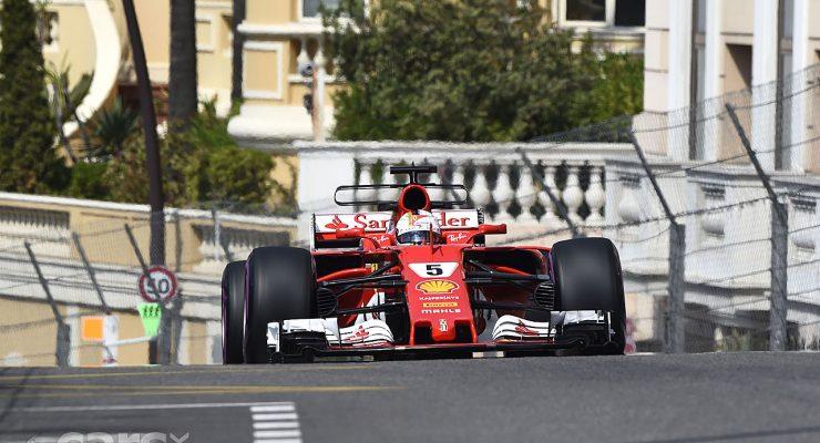 Photo Sebastian Vettel WINS the Monaco Grand Prix