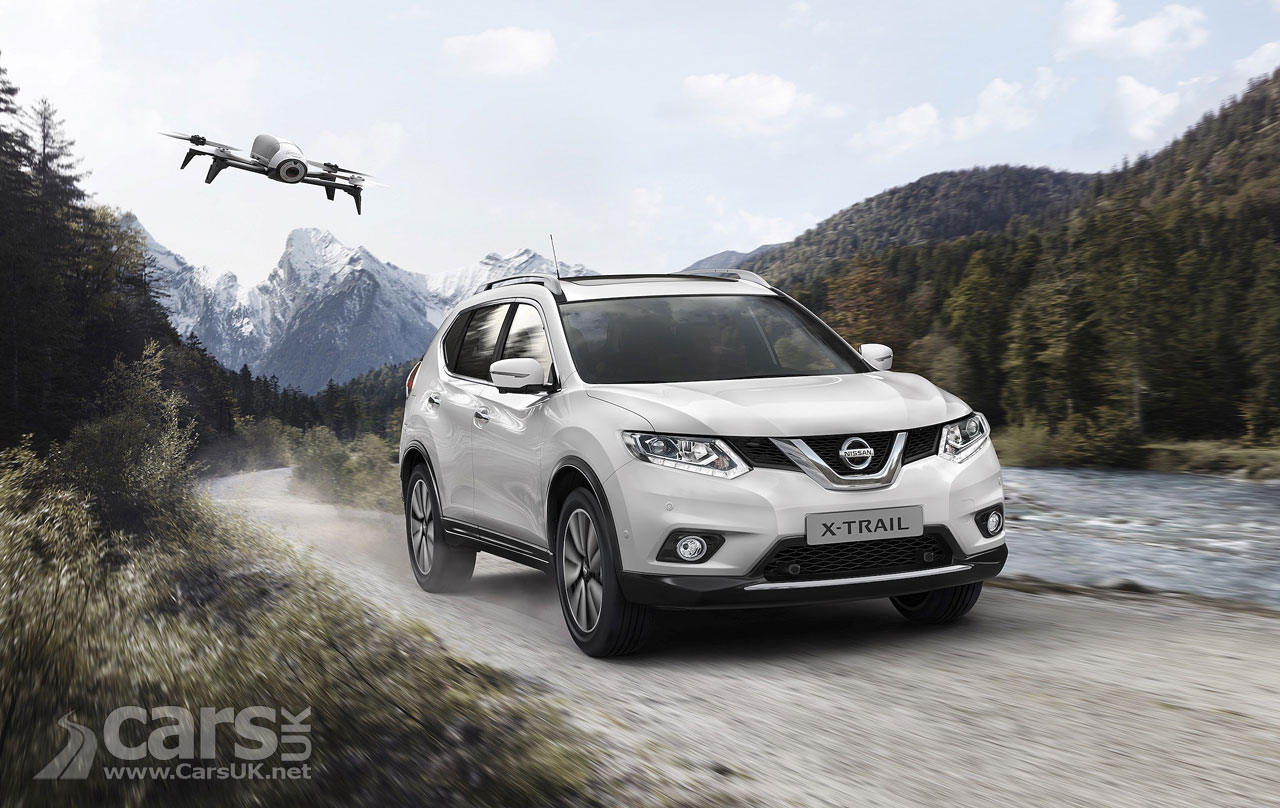 Nissan X-Trail gets drone option pack