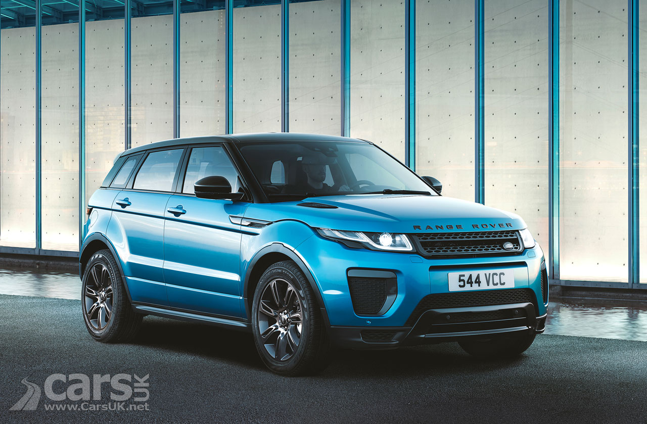 Range Rover Evoque Landmark revealed as Land Rover celebrate 600,000 Evoque sales | Cars UK