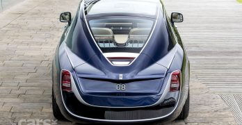 The Rolls-Royce Sweptail is a GLORIOUS one-off coachbuilt Rolls-Royce Phantom Coupe (video)